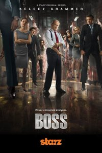 Boss (Starz) season 2 poster