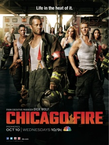 Chicago Fire (NBC) season 1 poster