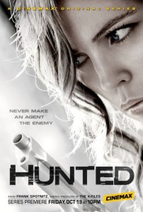 Hunted (BBC/Cinemax) Season 1 Poster