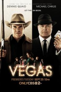Vegas (CBS) season 1 poster