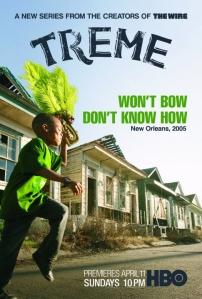 Treme (HBO) season 1 poster