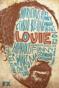 Louie (FX) season 2 poster