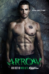 Arrow (The CW) season 1 promo poster