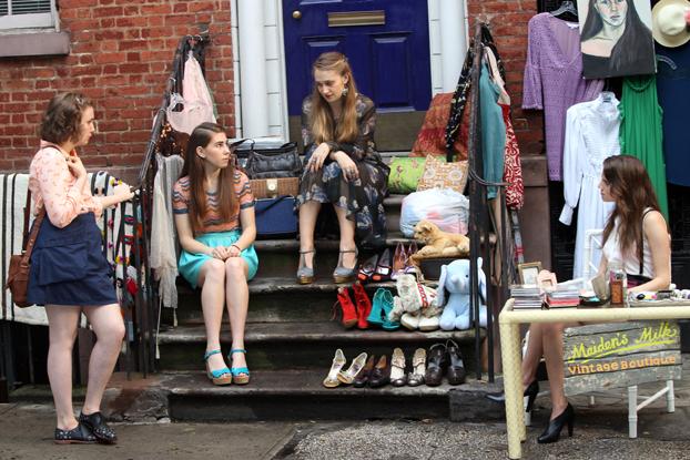 Girls (HBO) tournage s02