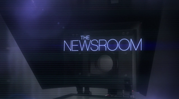 The Newsroom Title