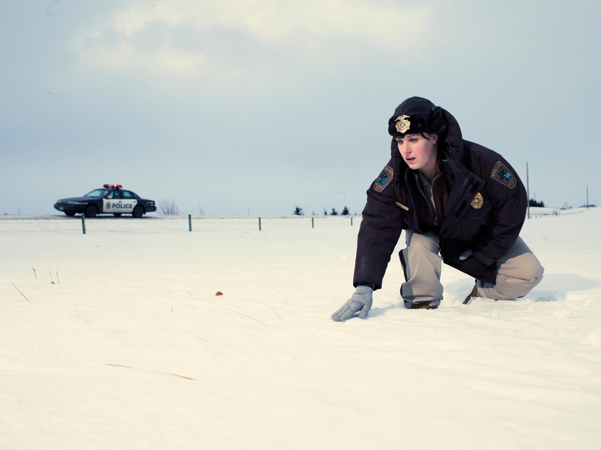 FARGO -- Pictured: Allison Tolman as Molly Solverson -- CR. Matthias Clamer/FX