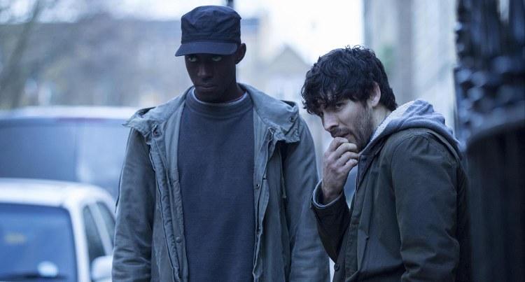 L-R Ivanno Jeremiah (Max) and Colin Morgan (Leo)