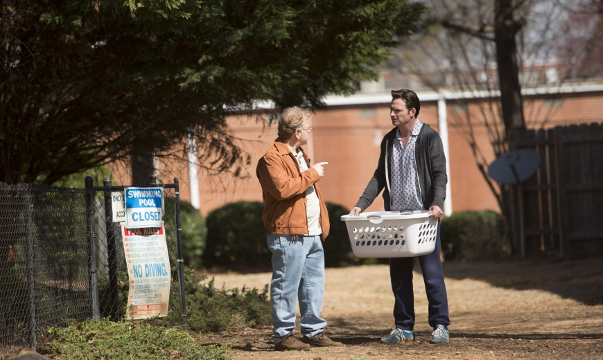 "L to R, John Boyd West and Aden Young - in the SundanceTV original series ""Rectify"" - Photo Credit: Daniel McFadden"