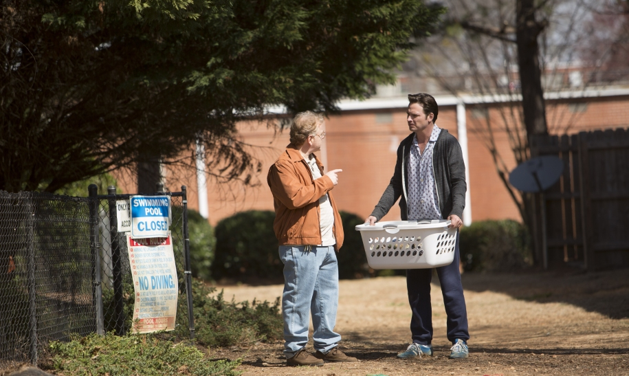 """L to R, John Boyd West and Aden Young - in the SundanceTV original series """"Rectify"""" - Photo Credit: Daniel McFadden"""